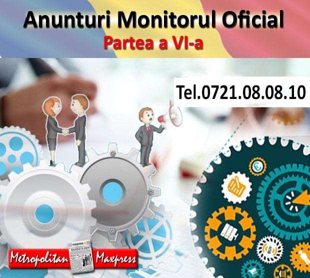 licitatii monitorul oficial